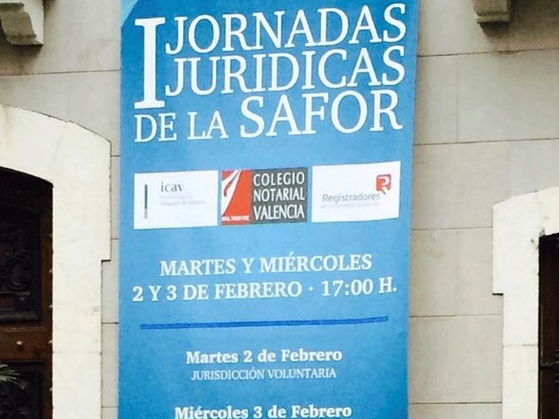 I Jornadas Jurídicas de La Safor