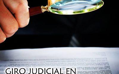 Giro judicial en la reclamación de los gatos hipotecarios